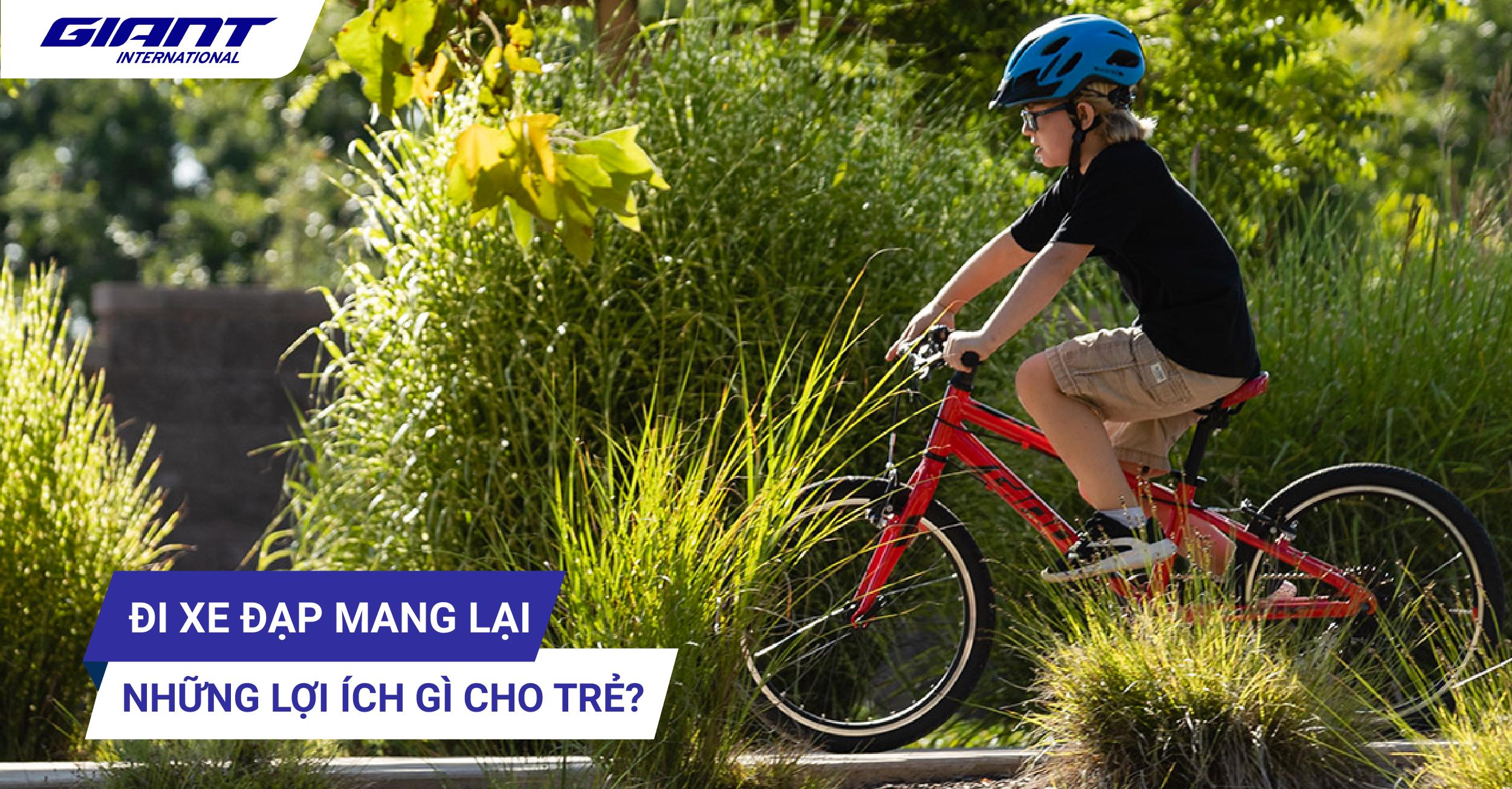 Đi xe đạp mang lại những lợi ích gì cho trẻ