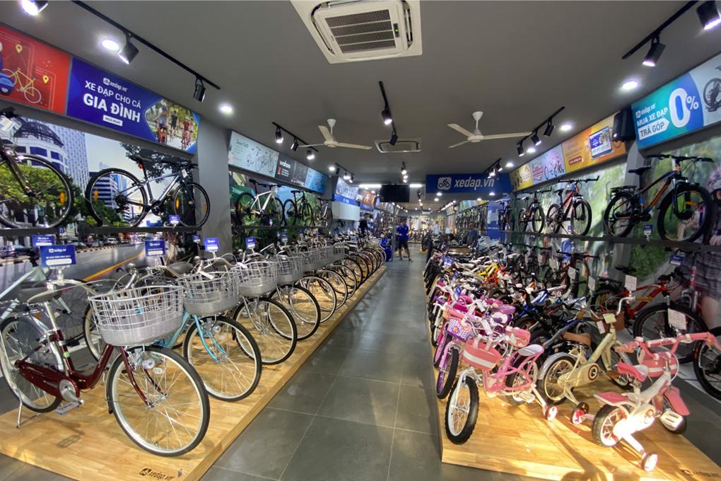 Sản phẩm đa dạng mẫu mã đến từ các thương hiệu xe đạp uy tín nhất thị trường