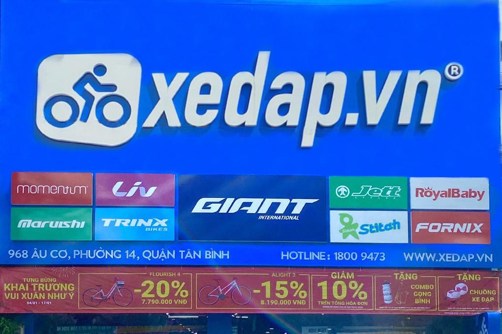 Đại lý uỷ quyền của Giant - Xedap.vn đã khai trương cửa hàng thứ 4 tại Tân Bình, TP.Hồ Chí Minh