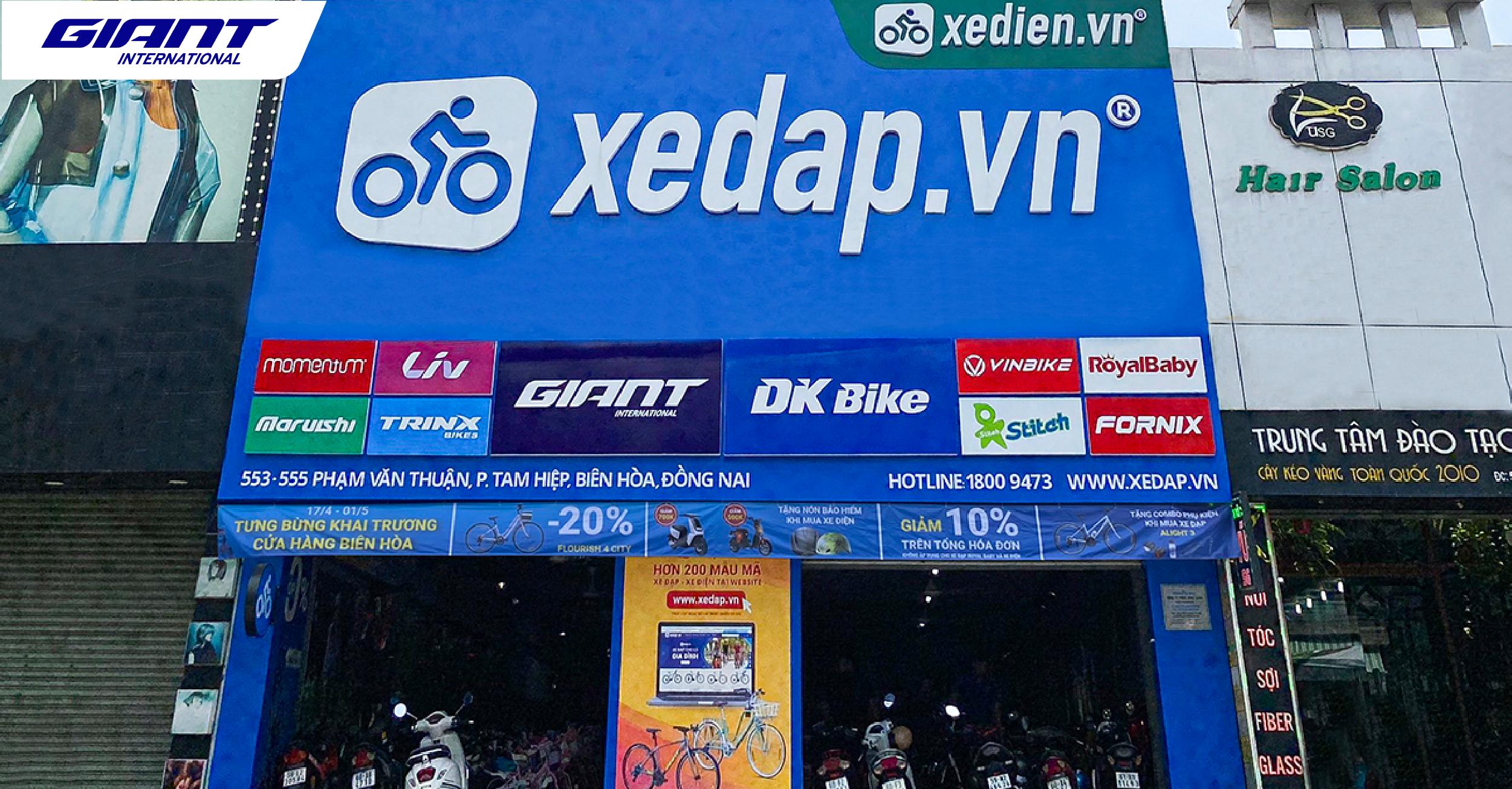 Đại lý uỷ quyền Xedap.vn đặt bước chân đầu tiên đến Biên Hoà, Đồng Nai
